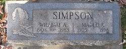 Mable B. Simpson