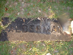 Janie <i>Walker</i> Alderman