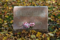 Hallie M. <i>Fort</i> Edwards