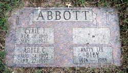 Adele C <i>Knebel</i> Abbott