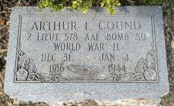 Lieut Arthur L Cound