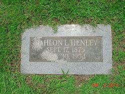 Mahlon L. Henley