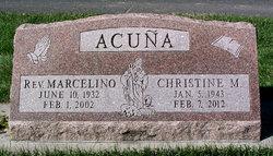 Rev Christine Magdalene <i>Duran</i> Acuna