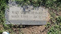 Mary Gertrude <i>Robinson</i> Barrett