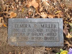 Elmira Pearl Ella <i>Kneedy</i> Miller