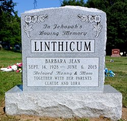 Barbara Jean <i>Linthicum O'Lague</i> Kirschner