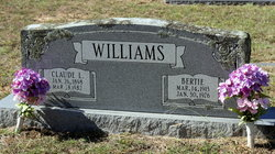 Bertie Margaret <i>Parker</i> Williams