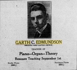 Dr Garth C Edmundson
