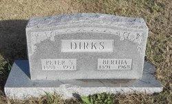 Bertha <i>Smith</i> Dirks