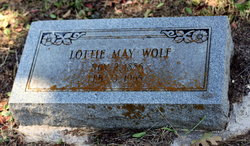 Lottie May <i>Alford</i> Wolf
