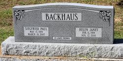 Helen Janet <i>Gamble</i> Backhaus