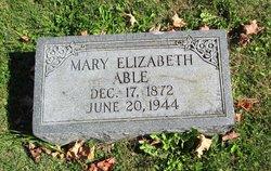 Mary Elizabeth <i>Mills</i> Able