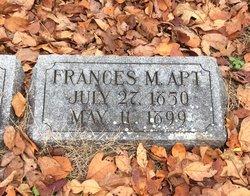 Frances M Apt