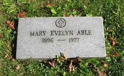 Mary Evelyn <i>Oglesby</i> Able