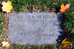 Huntley Weldon Lee Keillor