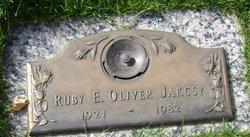 Ruby E <i>Oliver</i> Jakcsy