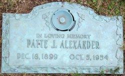 Pattie <i>Jordan</i> Alexander