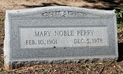 Mary Elizabeth <i>Noble</i> Perry