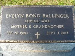 Evelyn Sug <i>Bond</i> Ballinger