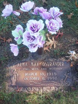 Alma May <i>Cary</i> Ostrander
