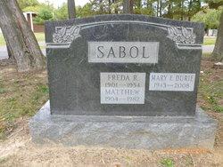 Mary Ellen <i>Sabol</i> Durie