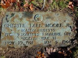 PFC Chester E Moore, Jr