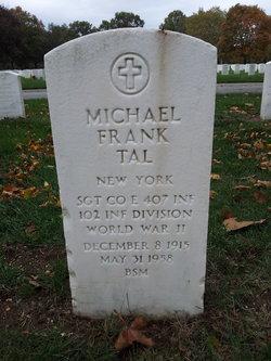 Sgt Michael Frank Tal