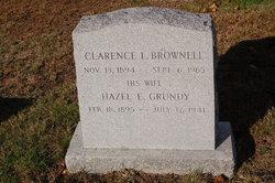 Hazel E <i>Grundy</i> Brownell