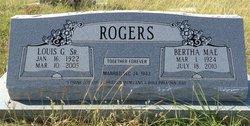 Bertha Mae <i>Harden</i> Rogers