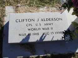 Clifton J Alderson