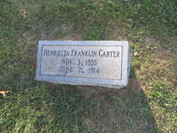 Henrietta Franklin Carter