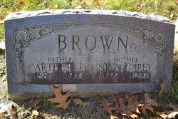 Nina A <i>Garey</i> Brown