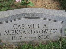 Casimer A Aleksandrowicz