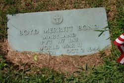 Boyd Merritt Bond