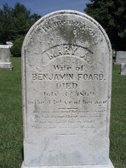 Mary Ann <i>Forwood</i> Foard