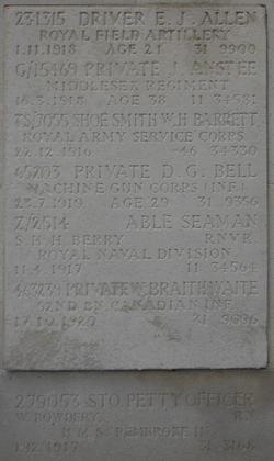Pvt Edward James Allen