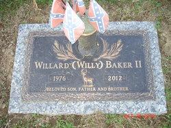 Willard Dean Willy Baker, II