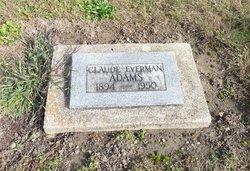 Rev Claude Everman Adams