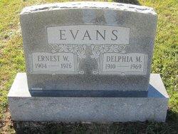 Earnest William Evans