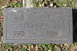 Mary Louise <i>Lawrence</i> Connet