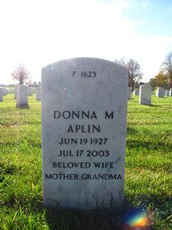 Donna Marion <i>Sweet</i> Aplin