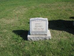 Rev Edward Linsey Adams