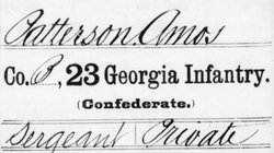 Pvt Amos Patterson