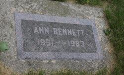 Ann Syverine <i>Aas</i> Bennett
