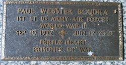 Capt Paul Webster Boudra
