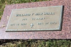 Willard F Marshall