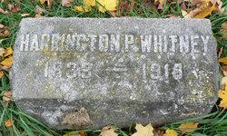 Harrington P. Whitney