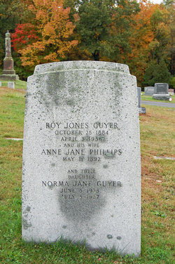 Annie Jane Peggy <i>Phillips</i> Guyer