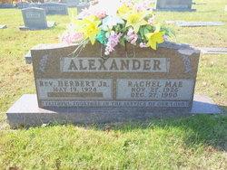 Rachel Mae <i>Arflack</i> Alexander