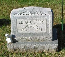 Edna <i>Coffey</i> Bowlin